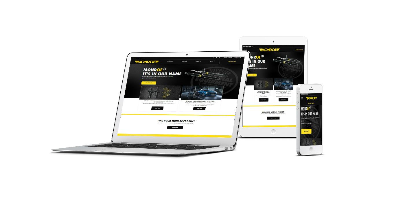 Monroe® lanza una nueva web centrada en productos y en soporte