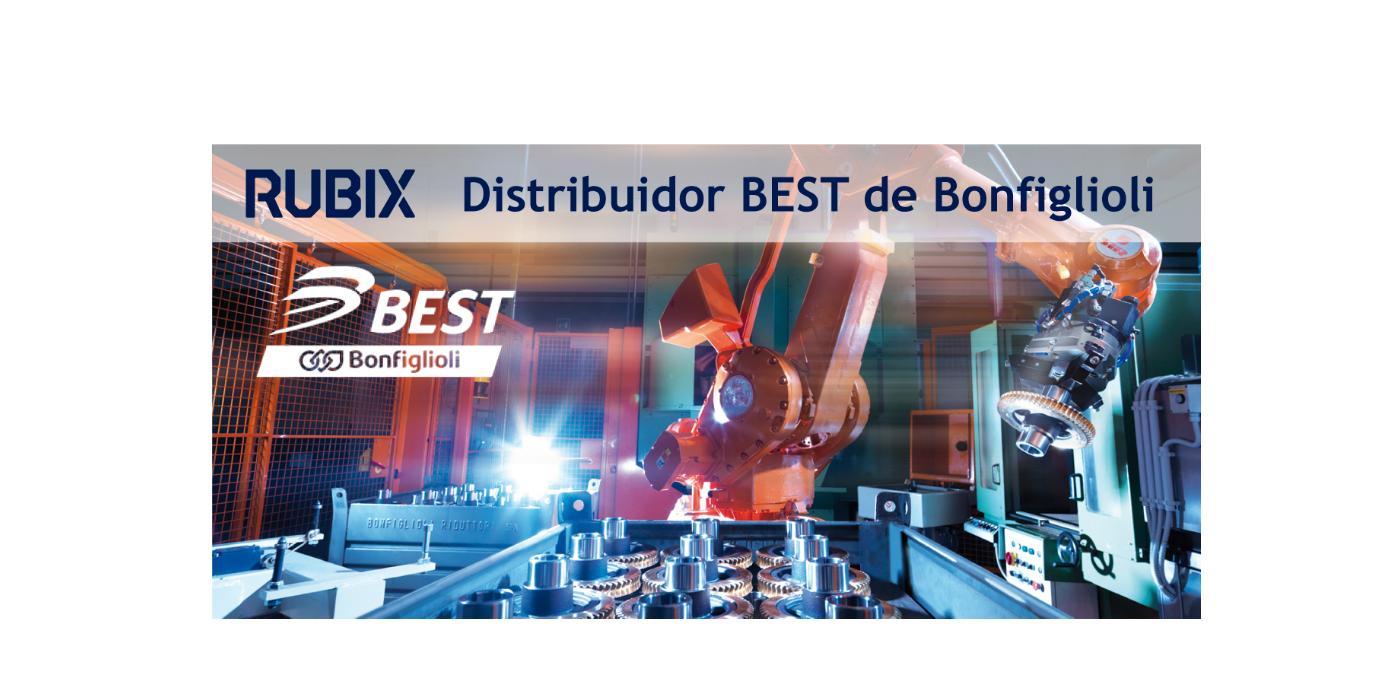 RUBIX se convierte en distribuidor best de bonfiglioli para ofrecer un servicio más completo a sus clientes