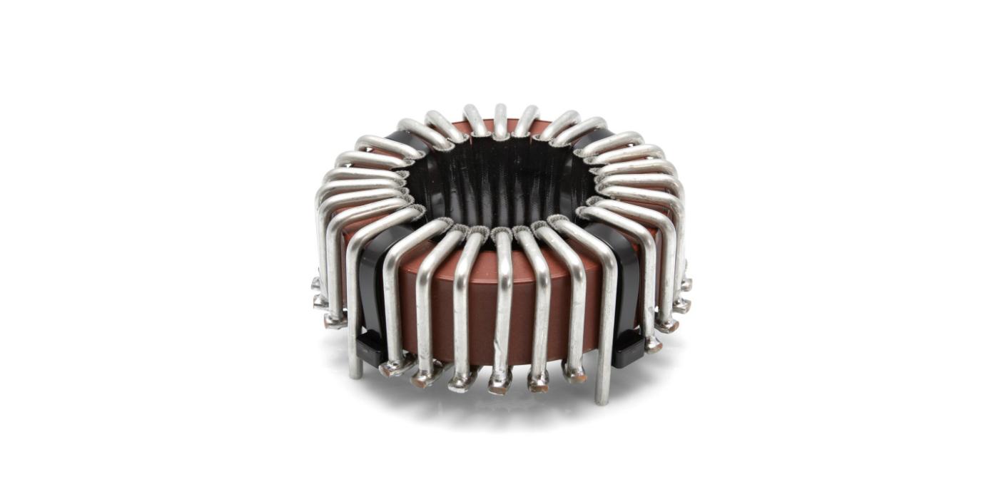 Bobina de choque para frecuencias mayores de 1 MHz