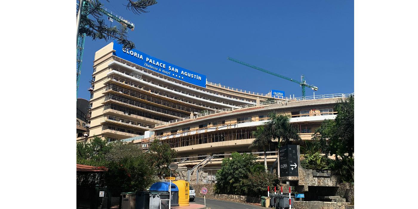 Soluciones Weber en la renovación del Gloria Palace San Agustín Thalasso & Hotel