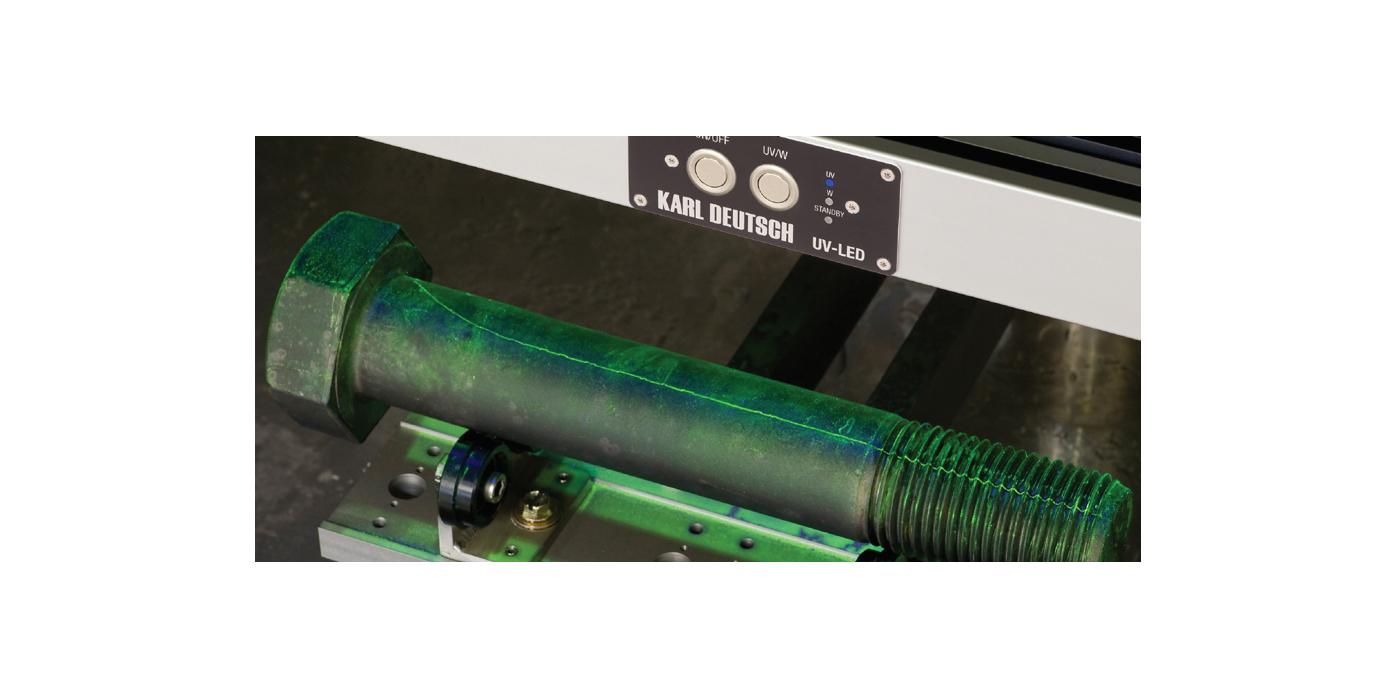 Las lámparas UV en los ensayos no destructivos