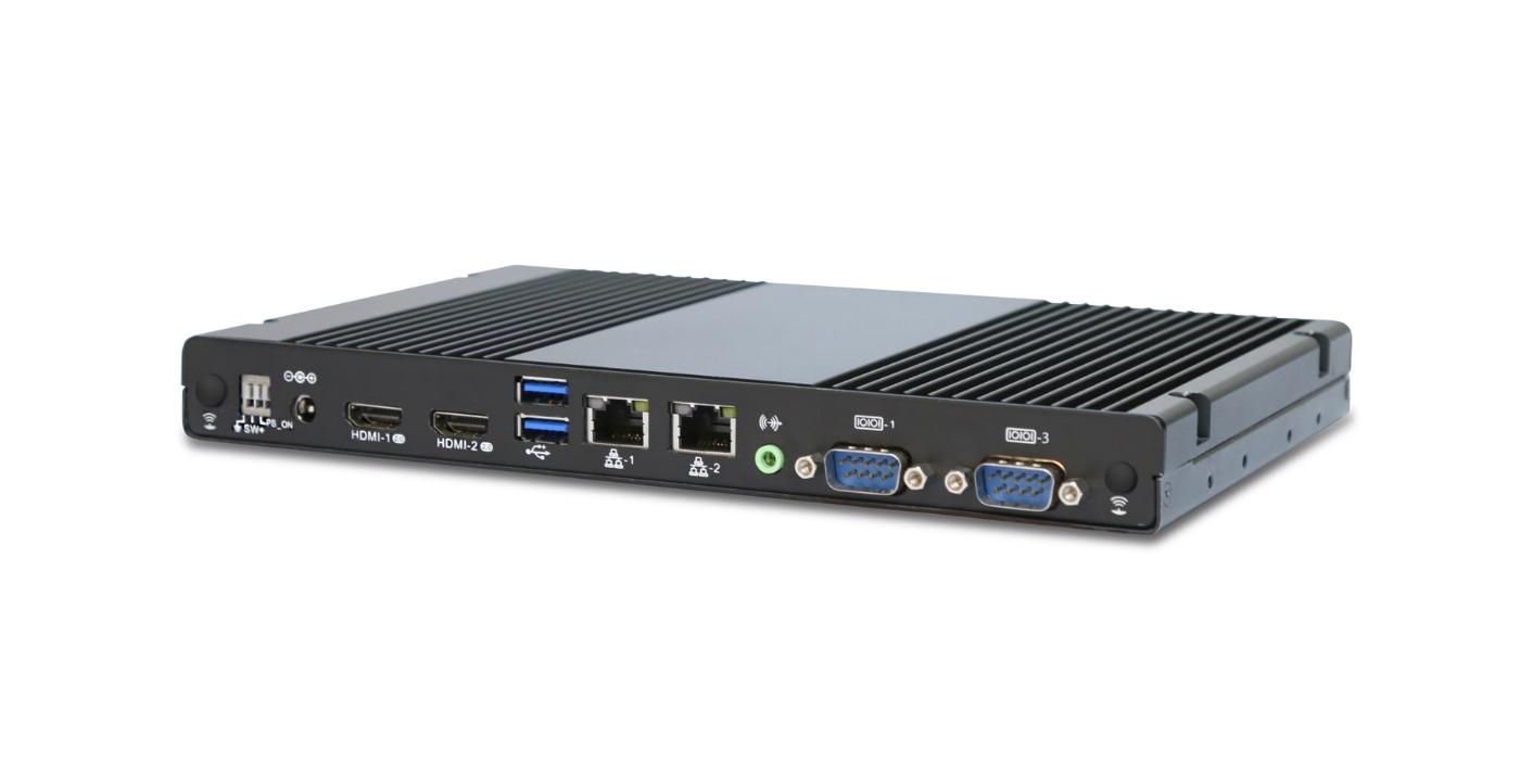 Mini PC sin ventilador con procesador Intel® Core para uso intensivo 24/7