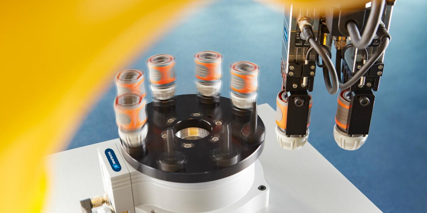 SCHUNK lanza la unidad de giro ERT con freno eléctrico, la más plana del mercado para tecnología de manipulación y montaje