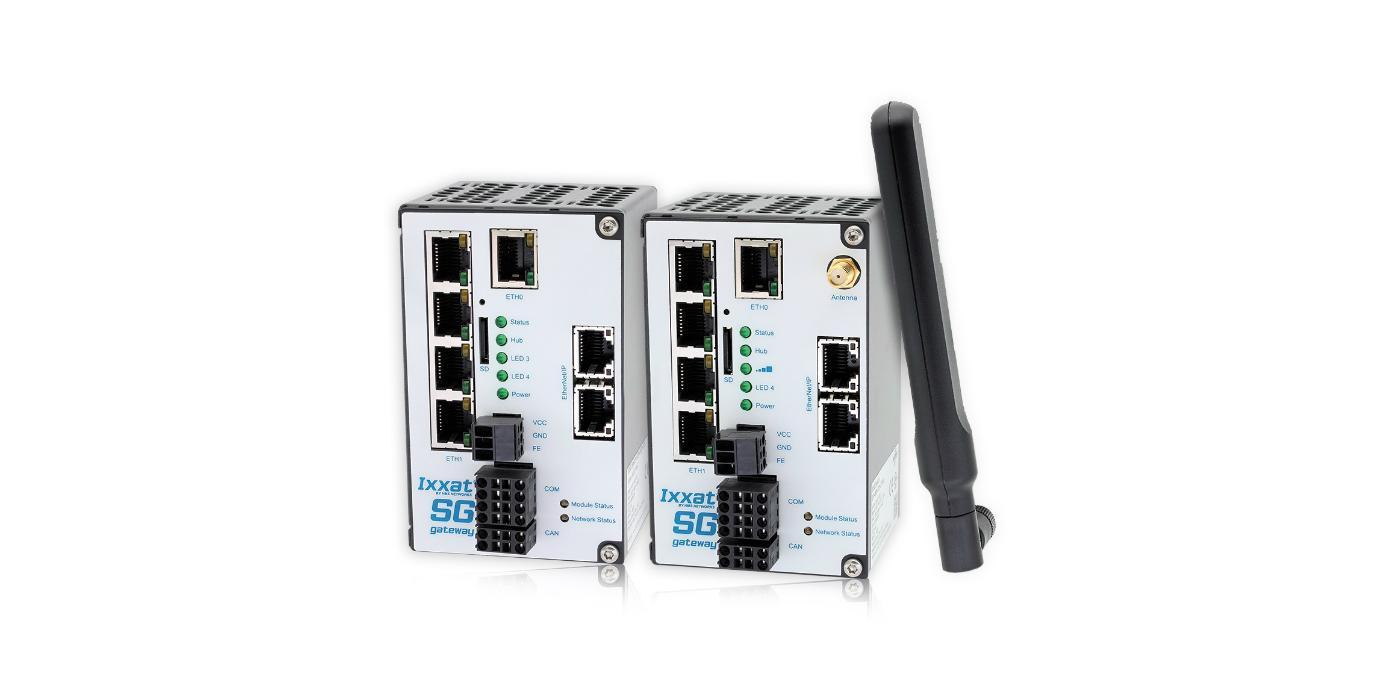 Nuevas pasarelas de red inteligente (SG, Smart Grid) Ixxat para IEC 61850 e IEC 60870 con soporte LTE
