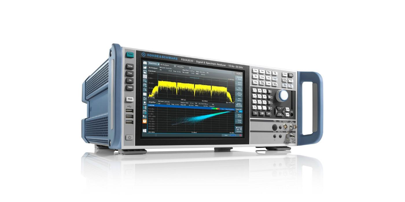 Rohde & Schwarz es el primero en incorporar el ancho de banda de análisis de 1 GHz a un analizador de espectro y señal de gama media, algo ideal para el 5G NR