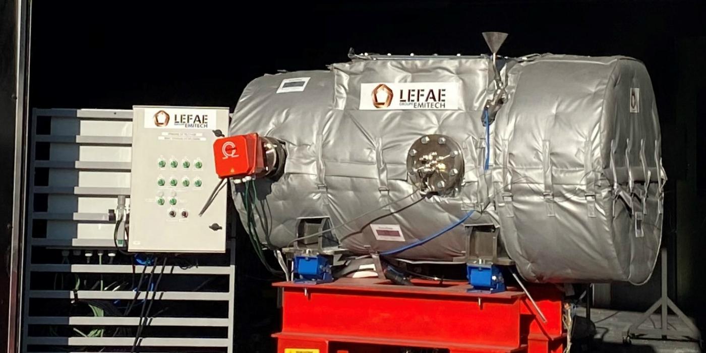 Lefae obtiene certificación para realizar pruebas en atmósferas explosivas