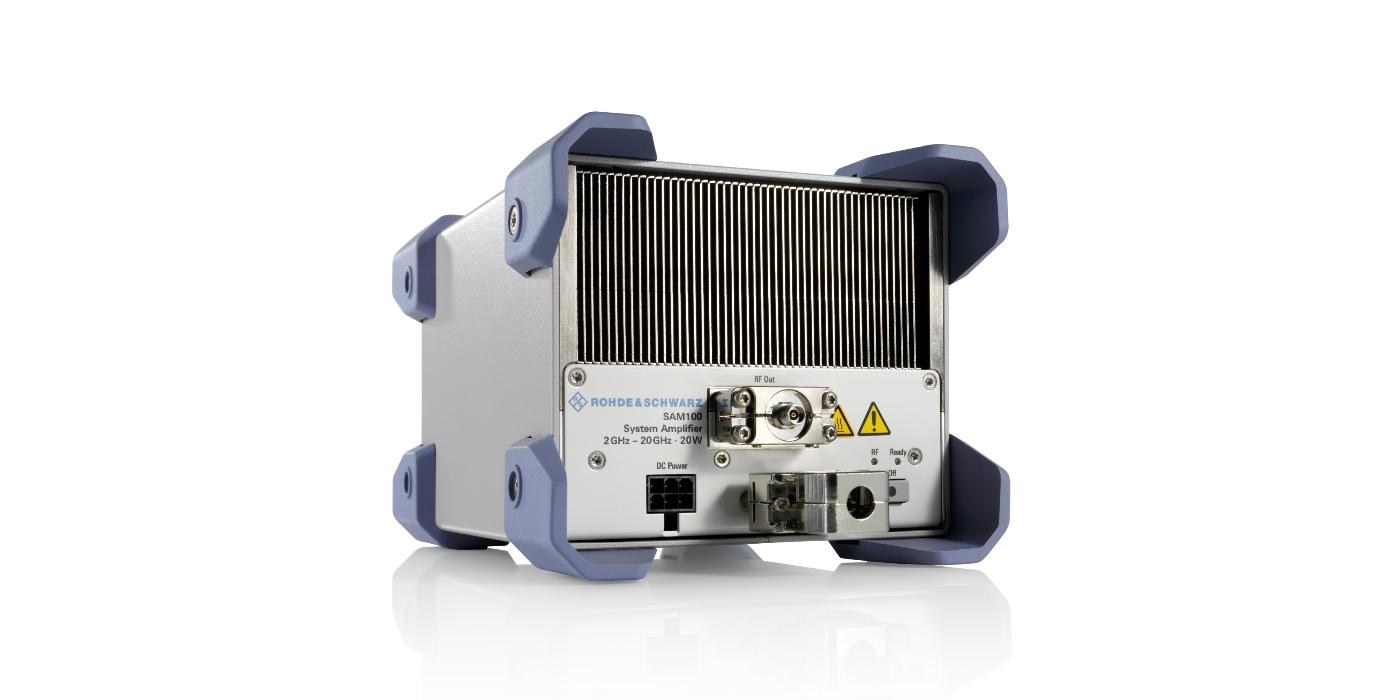 Nuevo amplificador de sistemas de Rohde & Schwarz dirigido a fabricantes de dispositivos que usan el rango de las microondas