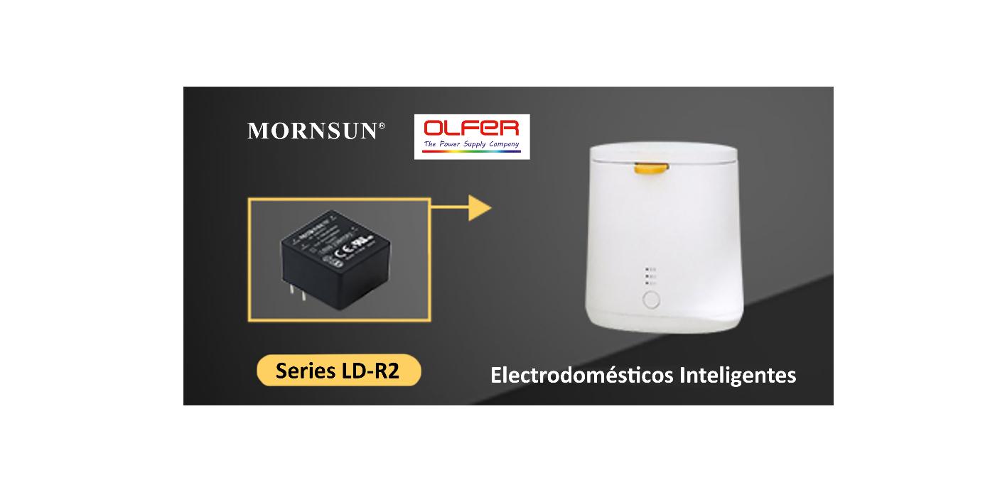 IoT en entorno doméstico: Convertidores ultra-compactos, Series LD-R2