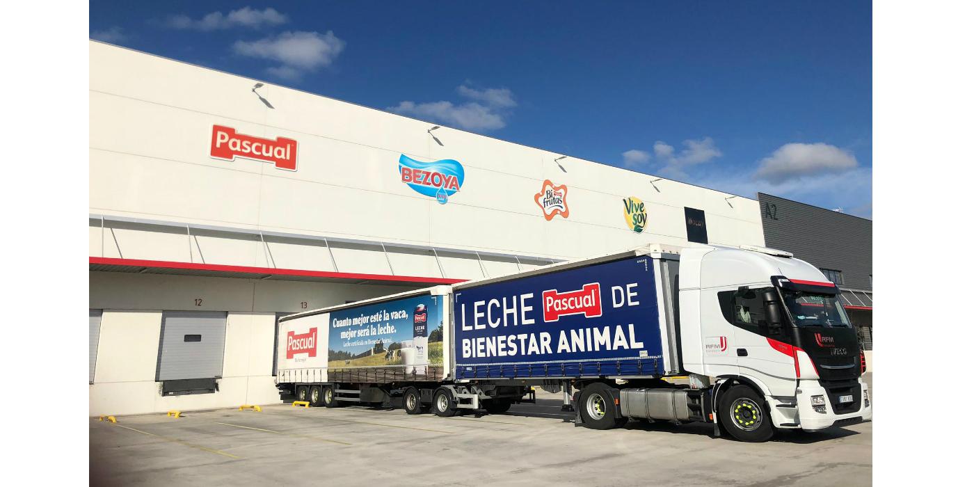 Pascual obtiene una estrella Lean&Green por la reducción del 20% de sus emisiones en la logística