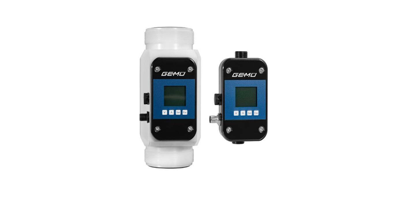 Nuevo caudalímetro ultrasónico 3040 de Gemü