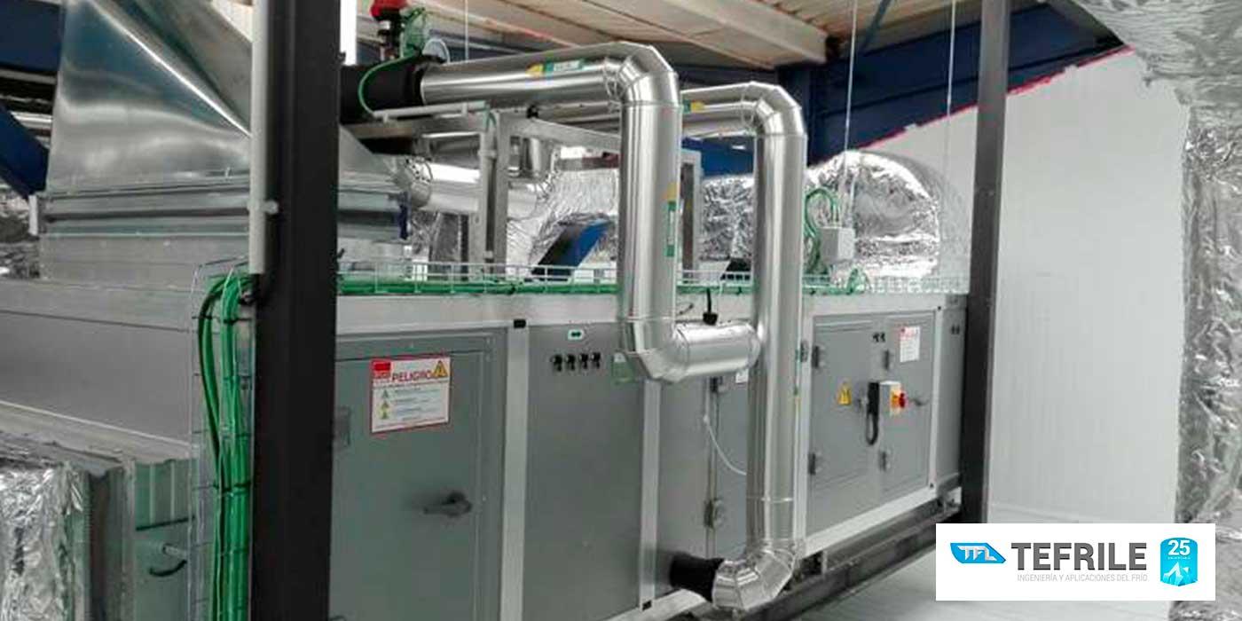 Tefrile, empresa especializada en equipos de frío industrial en Valencia