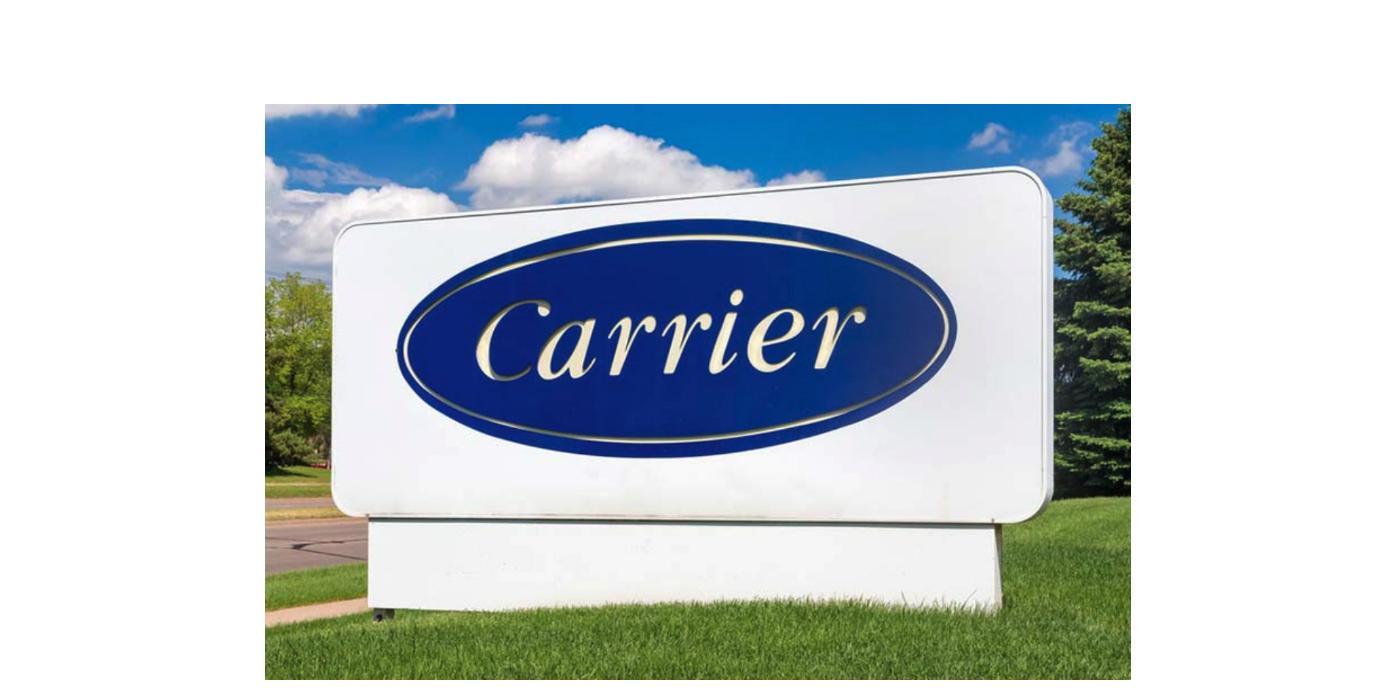 A Carrier planeia reduzir a pegada de carbono dos clientes em mais de uma gigatonelada