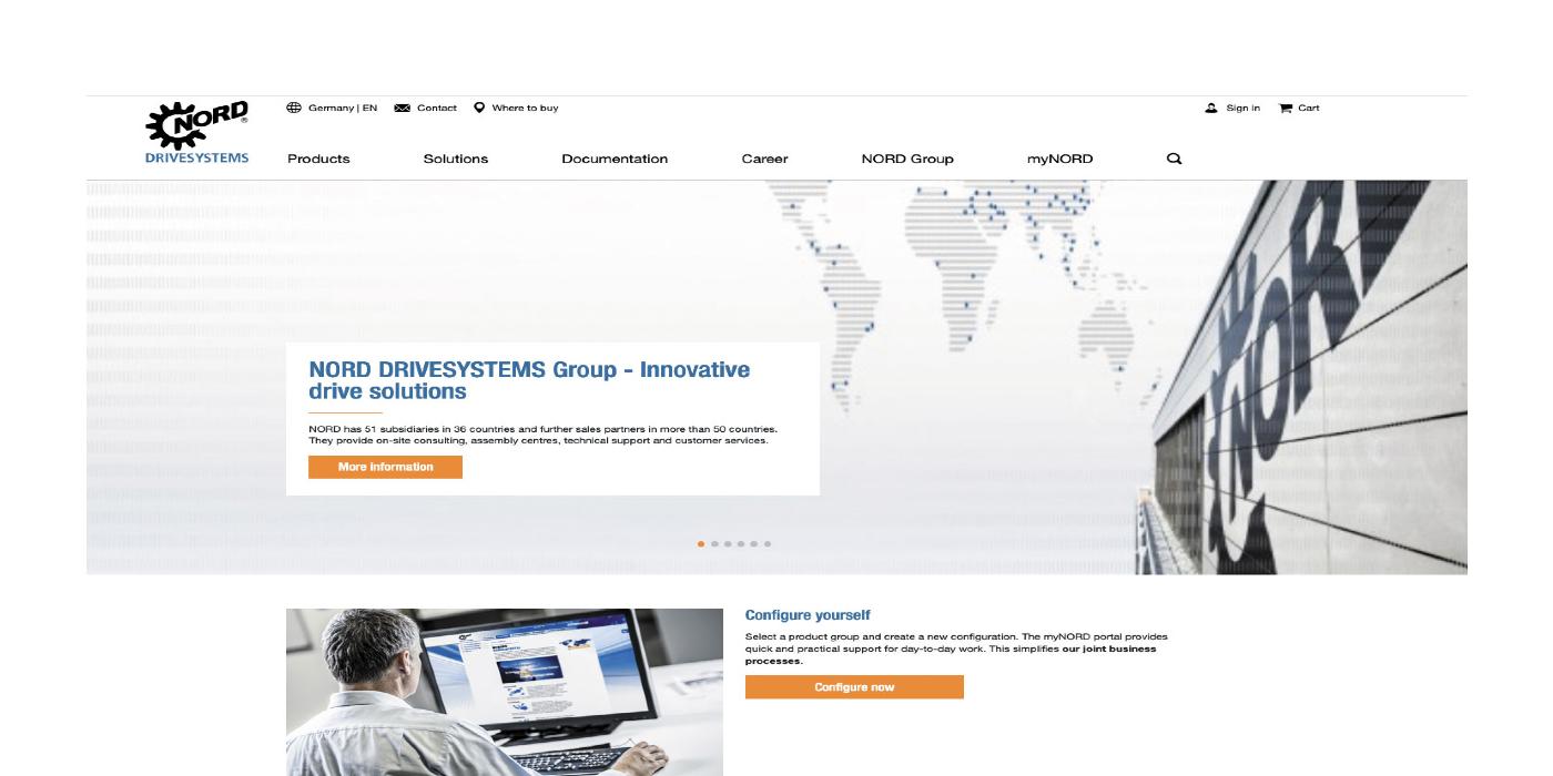 NORD DRIVESYSTEMS: nuevo sitio web ya disponible