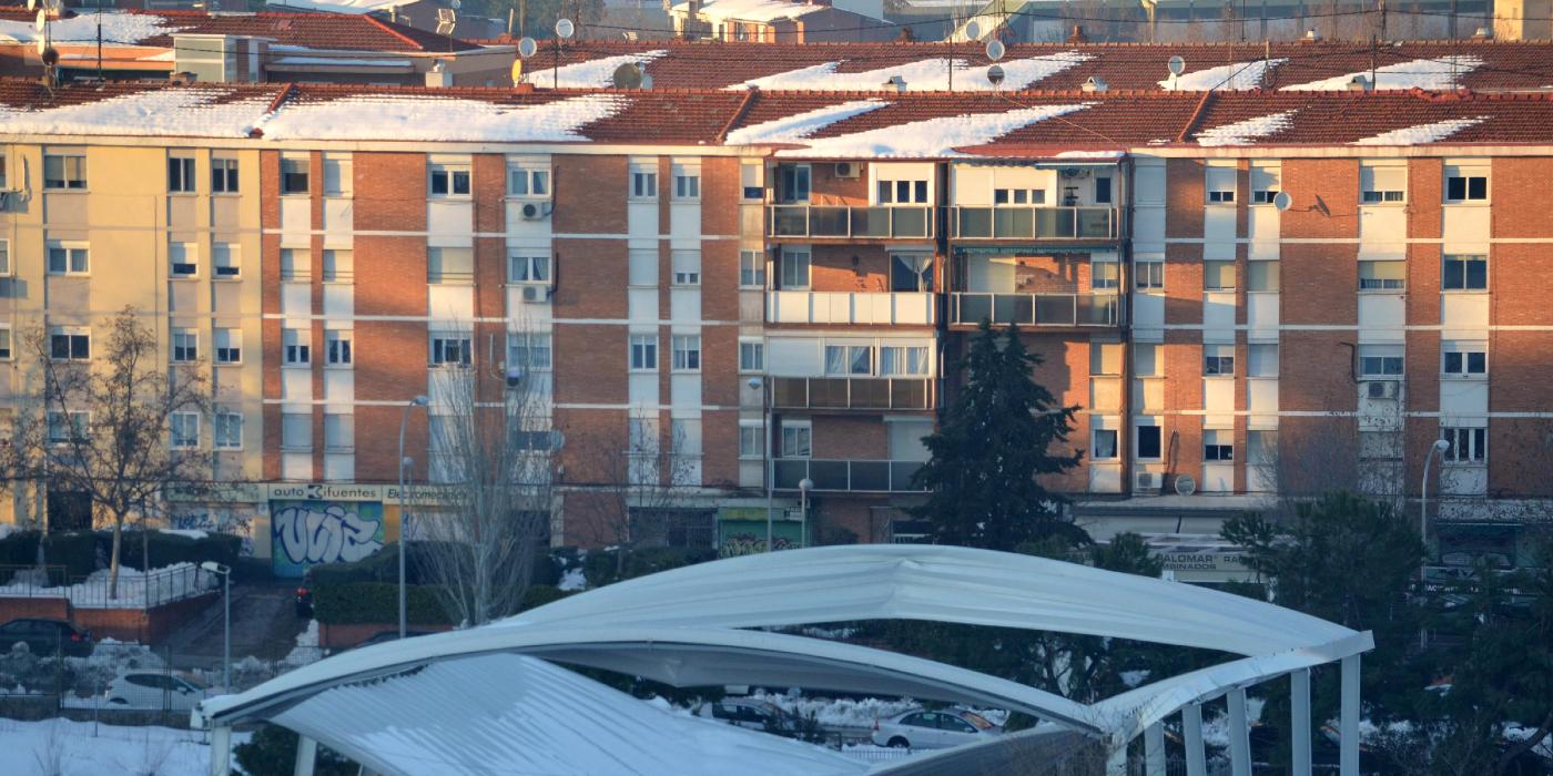 Los fabricantes reivindican la seguridad de las cubiertas de tejas incluso ante grandes cargas de nieve como las provocadas por Filomena