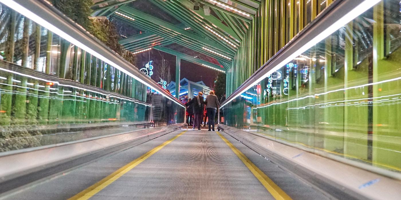 Las rampas mecánicas de Gran Vía, en Vigo, instaladas por thyssenkrupp Elevadores, premio Proyecto del Año 2021 de Elevator World