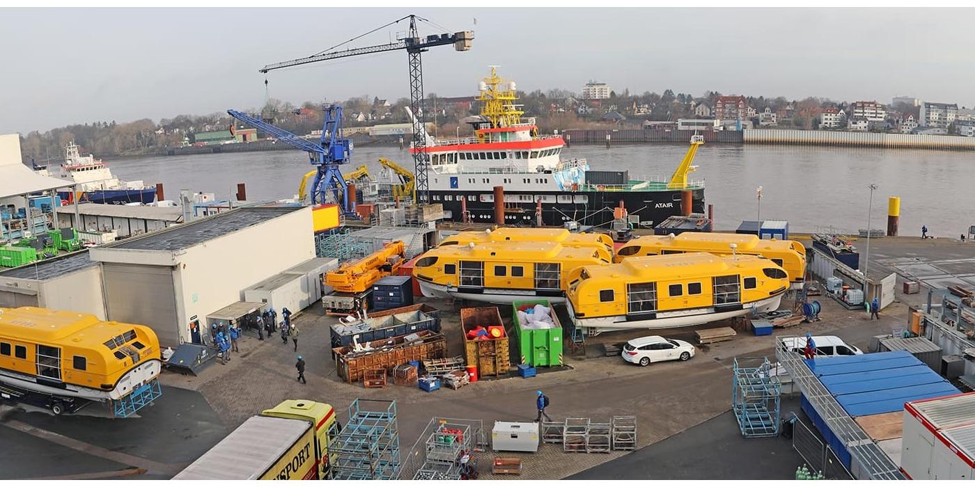 Roxtec ayuda a mejorar el estándar tecnológico del astillero Fassmer