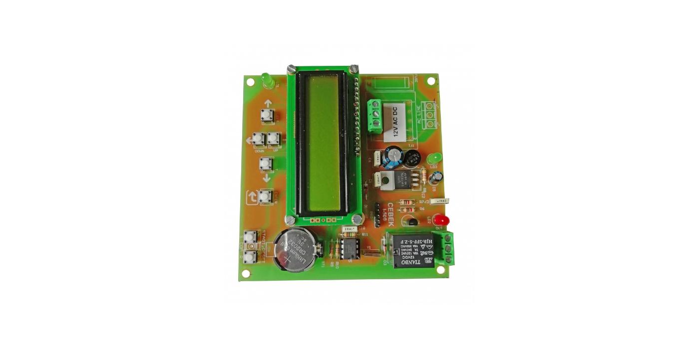 I-521 programador semanal 12 VCC