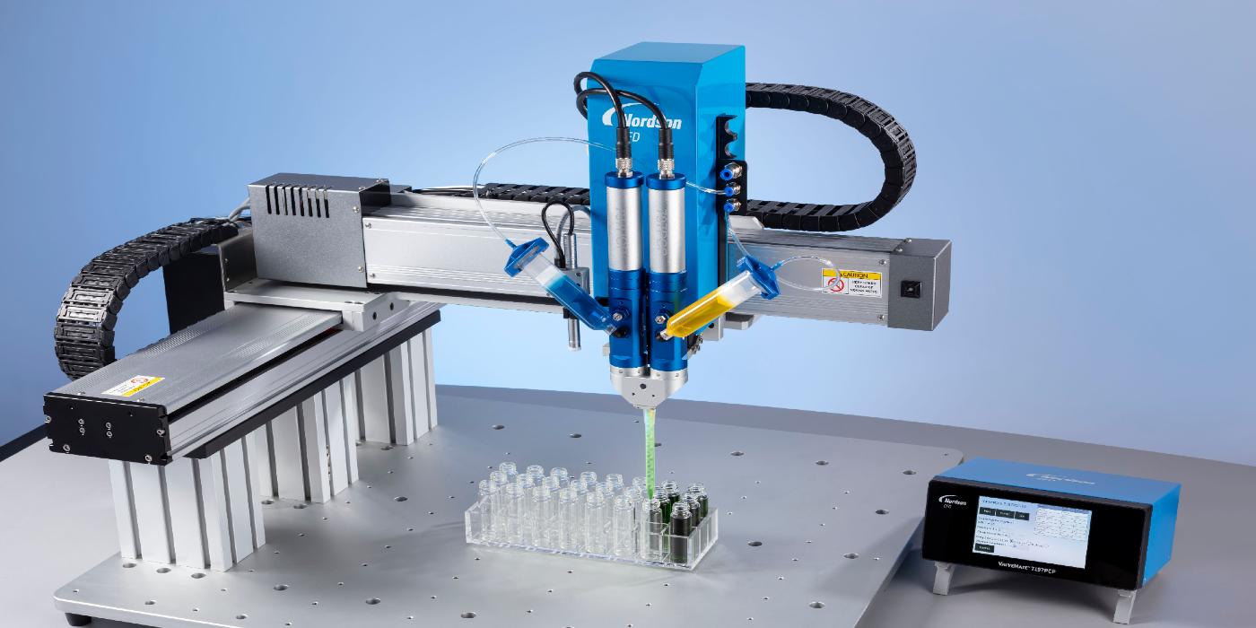 Sistemas de bombeo de cavidad progresiva 797PCP de Nordson EFD para la dosificación volumétrica continua