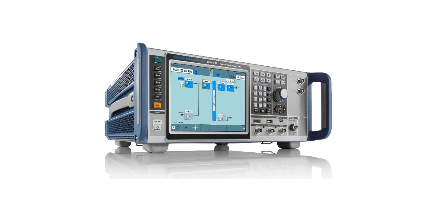 El generador vectorial de señales R&S SMM100A redefine la generación de señales de gama media para 5G, Wi-Fi 6E y mucho más