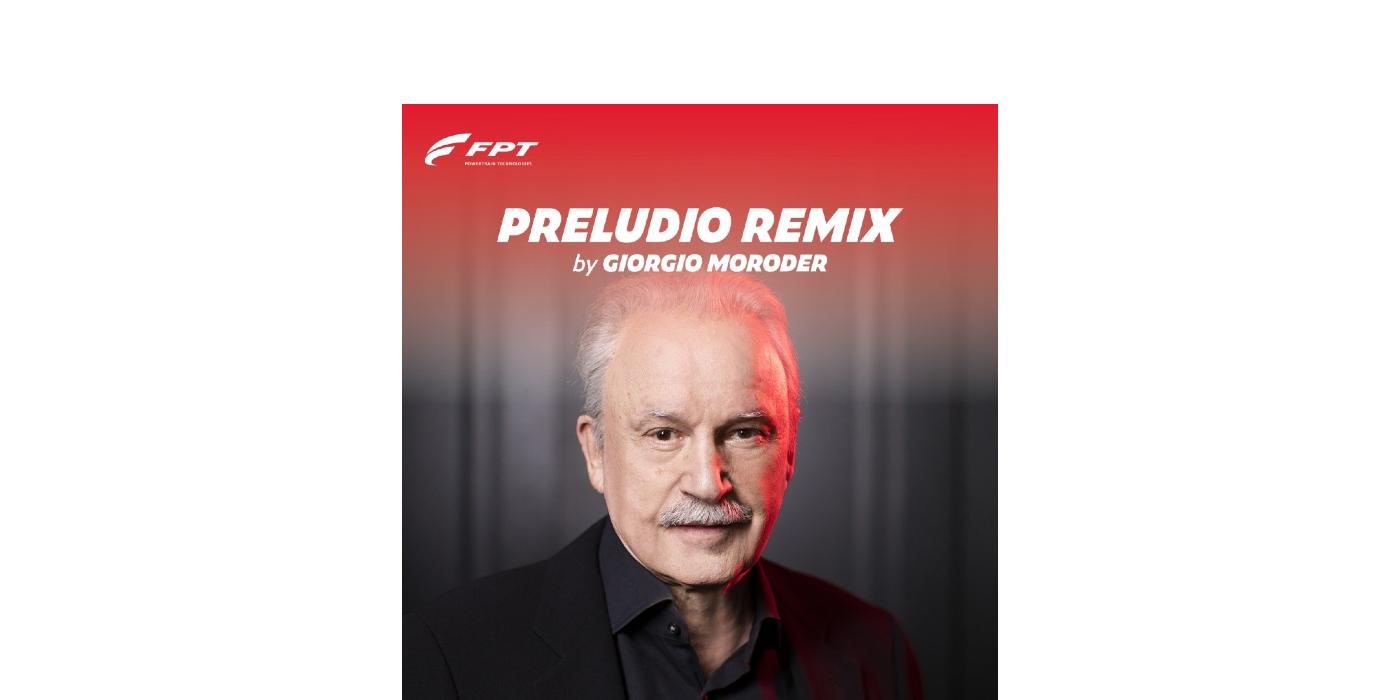 Giorgio Moroder presenta en primicia preludio remix, el sonido del futuro creado por FPT INDUSTRIAL