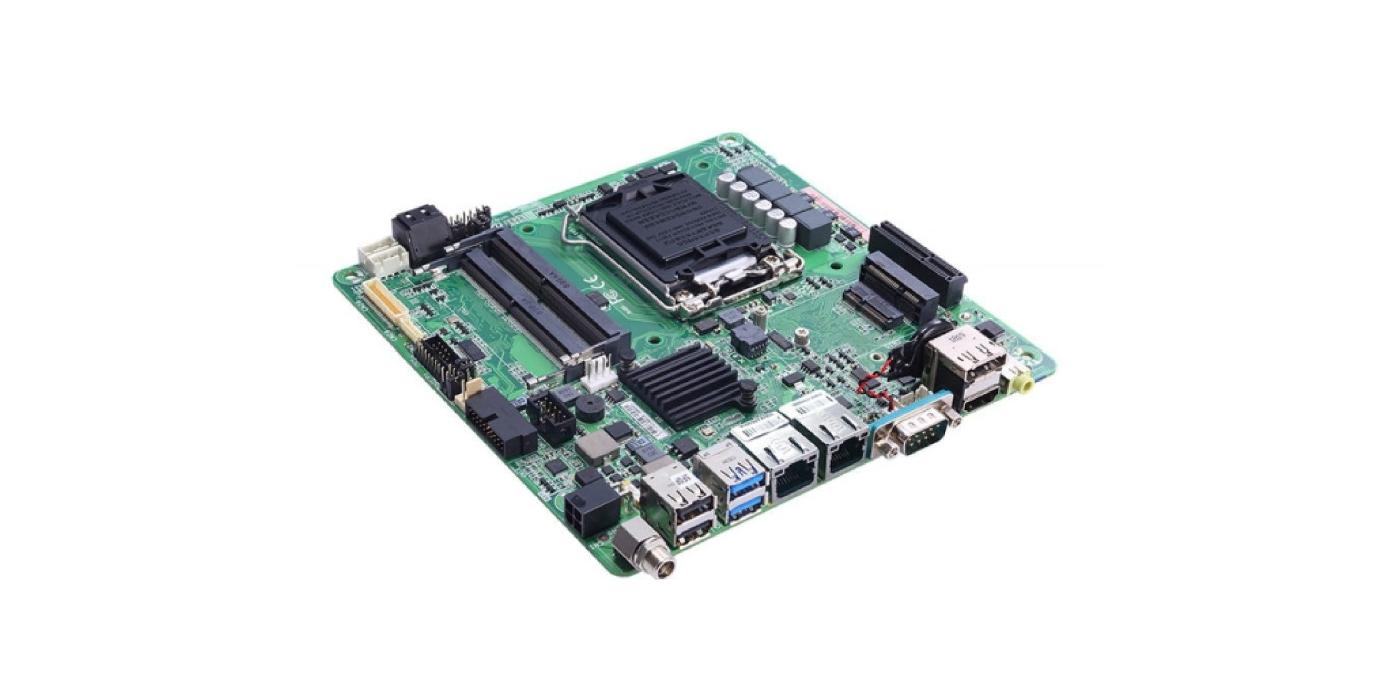 Placa base Mini ITX Intel Coffee Lake para aplicaciones industriales