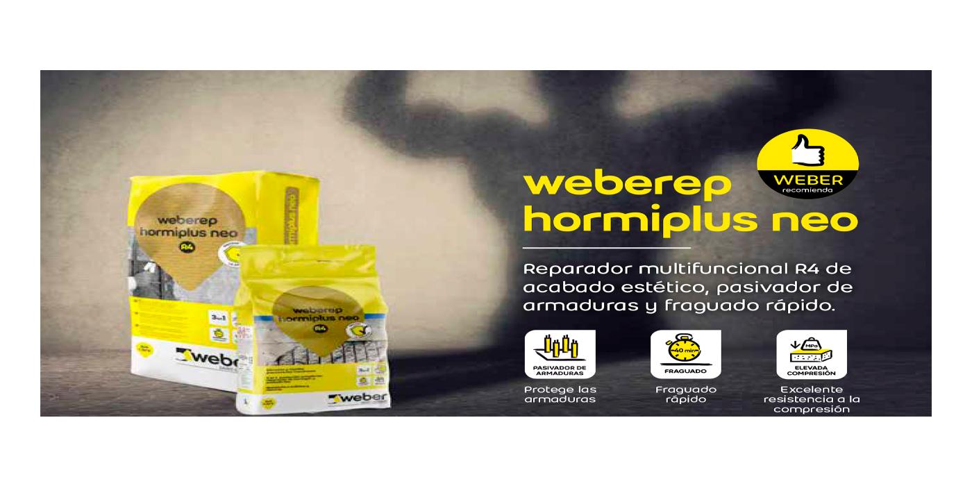 Nuevo weberep hormiplus NEO