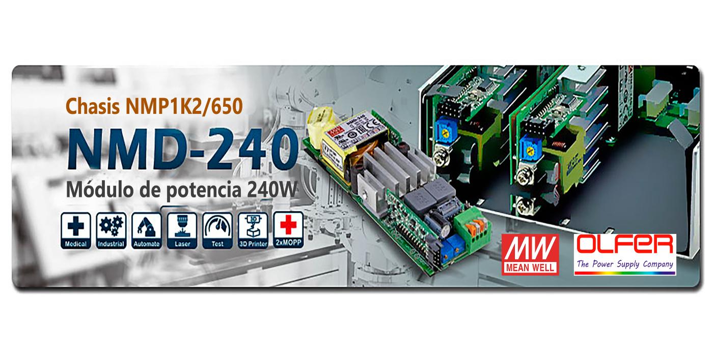 Módulo de potencia NMD-240 para los chasis NMP1K2 / 650