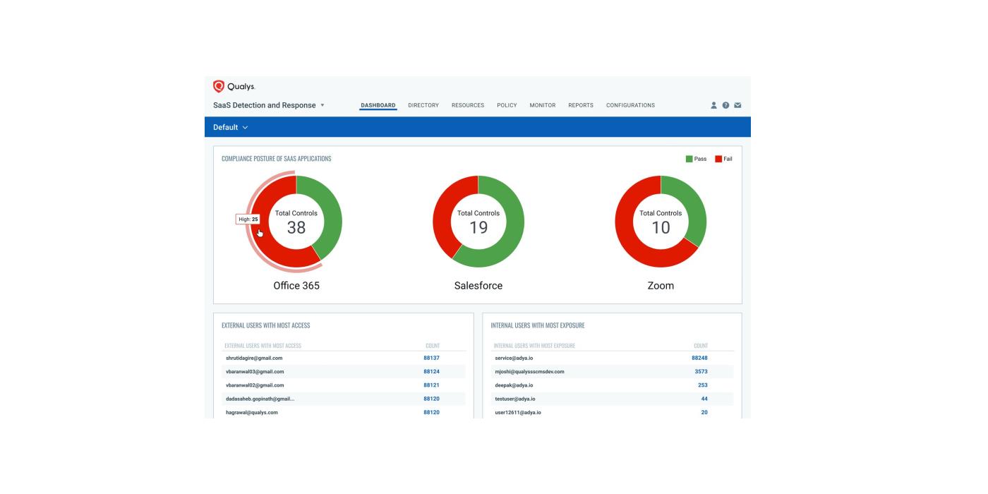Qualys lanza SaaS Detection and Response para gestionar la seguridad y riesgos relacionados con aplicaciones SaaS