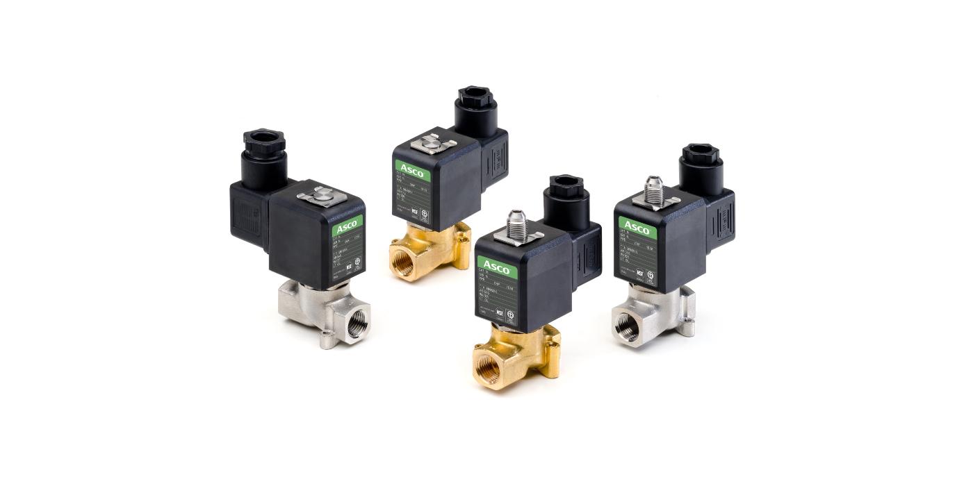 Las válvulas solenoides de Emerson permiten diseños de máquinas más compactos