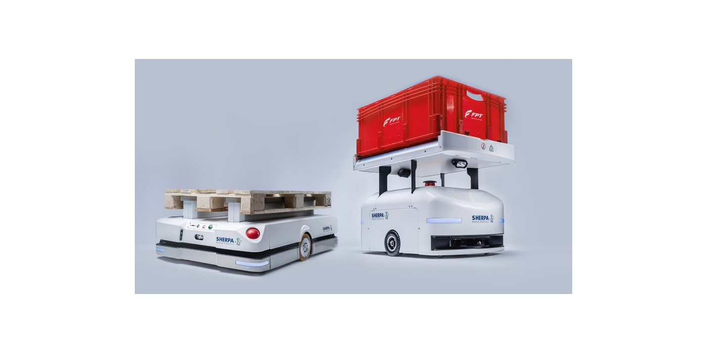 FPT Industrial produce el motor cursor 13 NG N ° 10.000 en su planta de Bourbon-Lancy con la colaboración de los nuevos robots sherpa