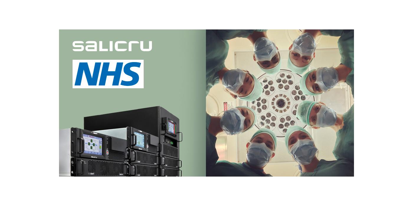 Salicru protege la sanidad del Reino Unido