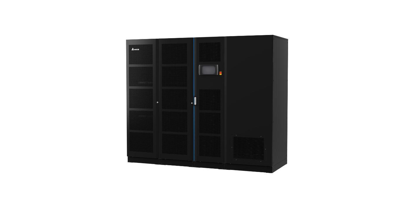El UPS Ultron DPS de Delta 300-1200 kVA ofrece confiabilidad líder en la industria con la densidad de energía más alta para centros de datos de escala MW