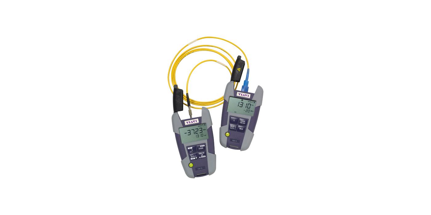 """Medidores de potencia óptica, fuentes de luz y kits de pruebas de pérdida """"de bolsillo"""""""