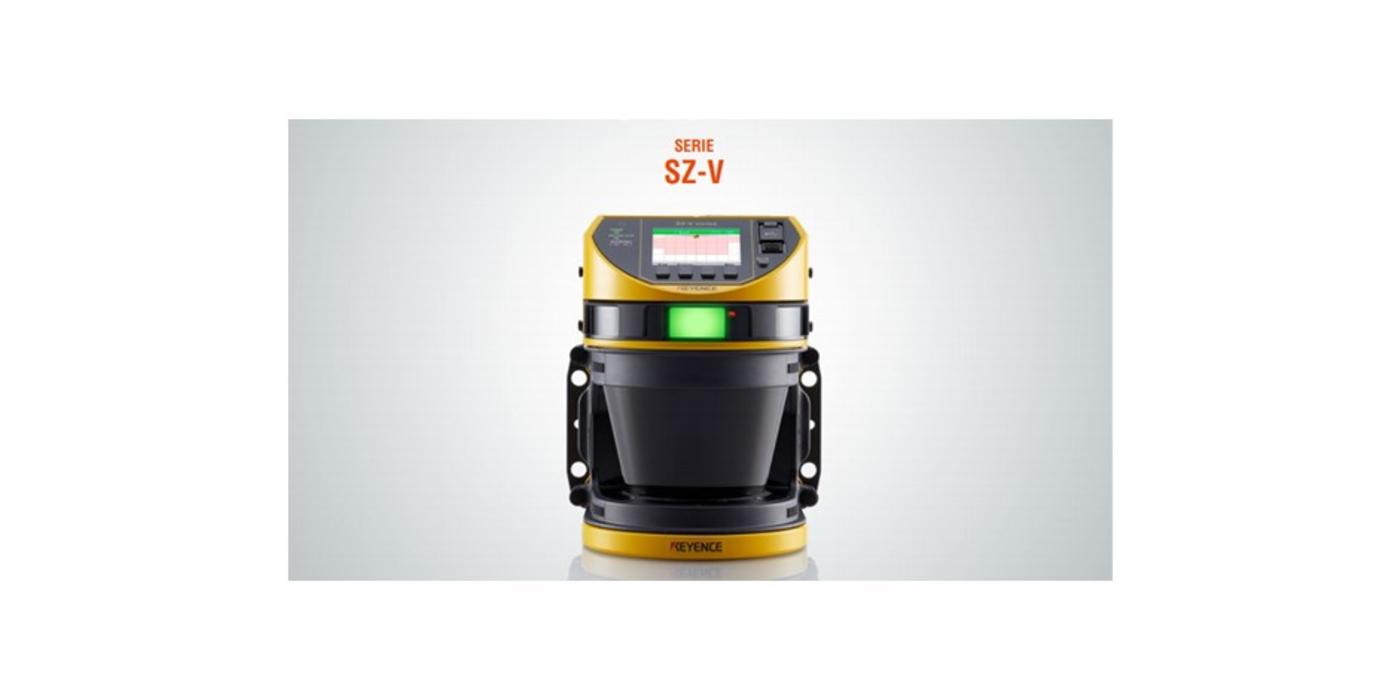 Medición de volumen con el Escáner de Seguridad Keyence