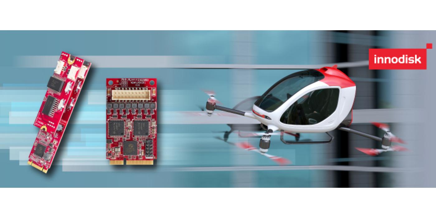 Innodisk lanza módulos de bus CAN para sistemas inteligentes no tripulados