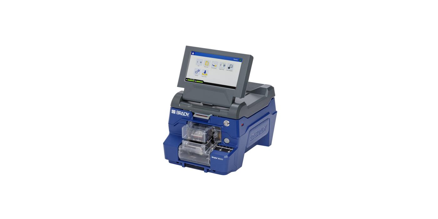 Impresora-aplicadora de etiquetas para cables con un diámetro de hasta 6,35 mm