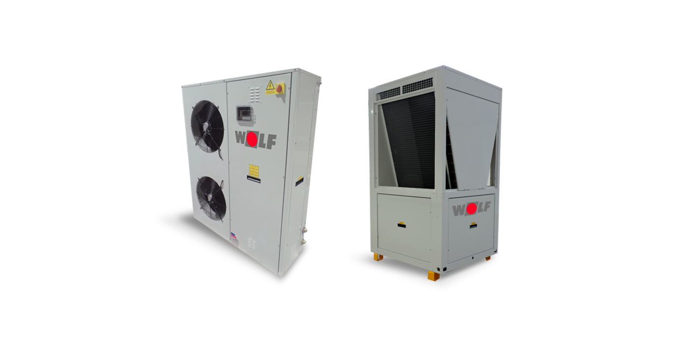 Los nuevos sistemas de bombas de calor MHA-2 de WOLF permiten su hibridación y contribuyen a reducir la demanda de energía