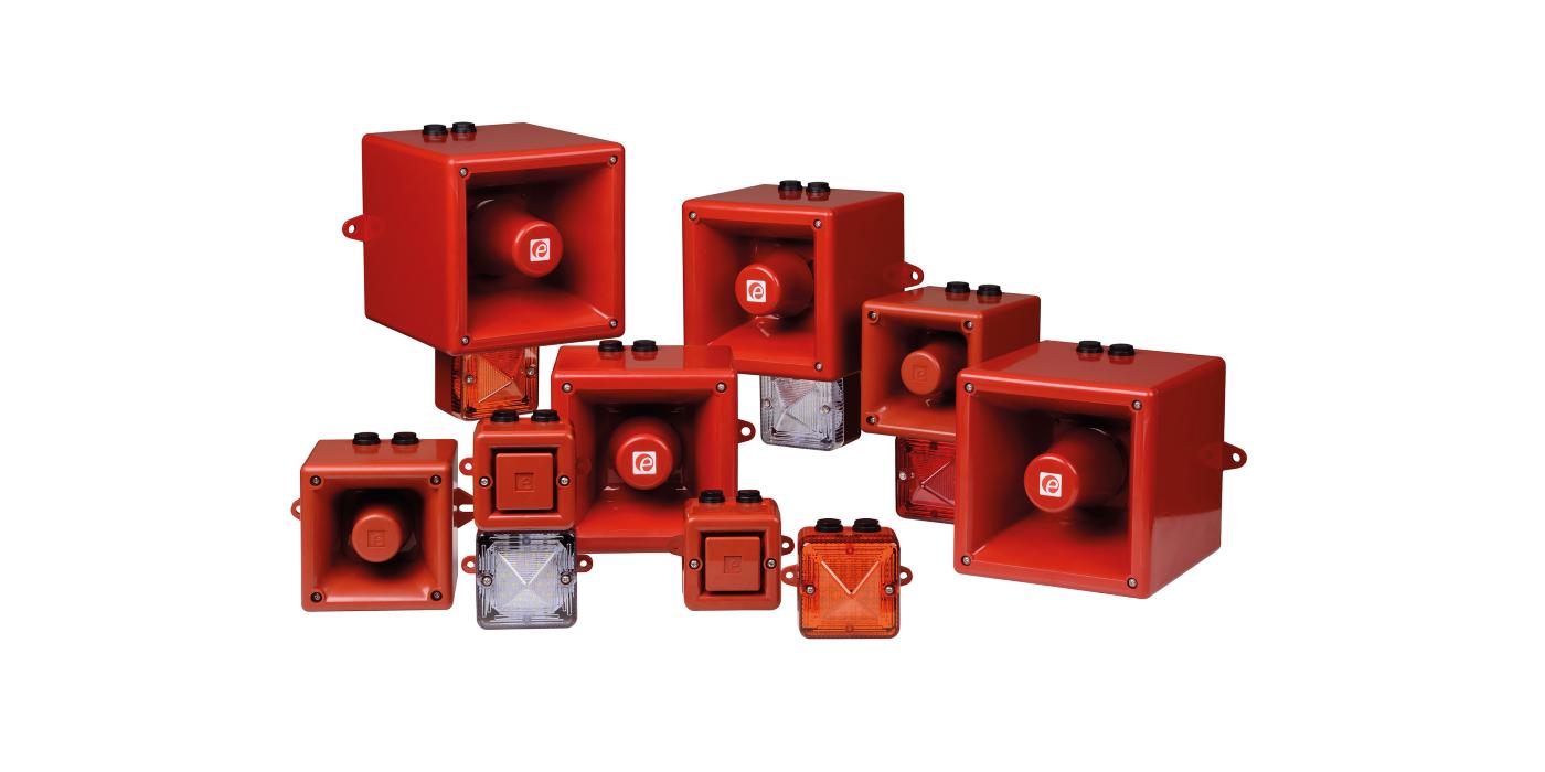 E2S lanza una importante actualización de sus dispositivos de señalización AlertAlarm, AlertAlight y Sonora