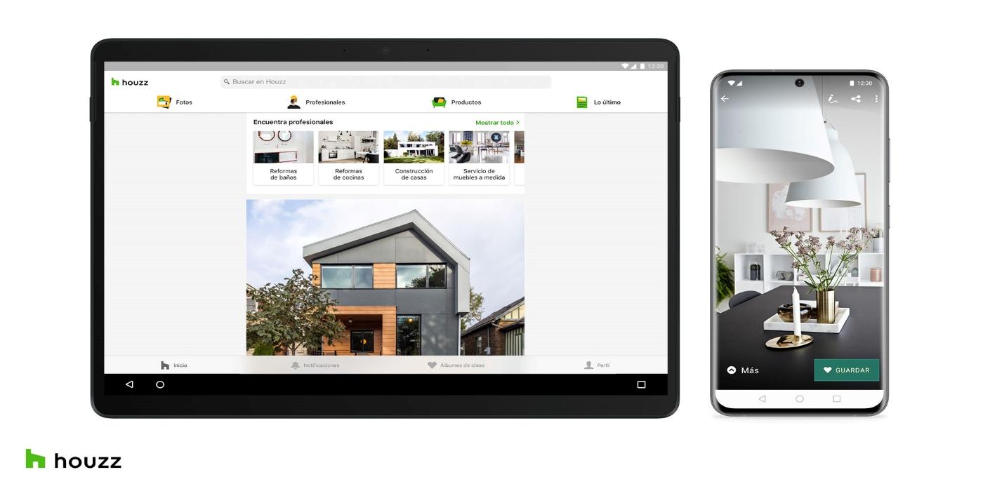 ¿Hogar dulce hogar? Ficha la app de Houzz, que incluye todo lo que necesitas para rediseñar tu casa