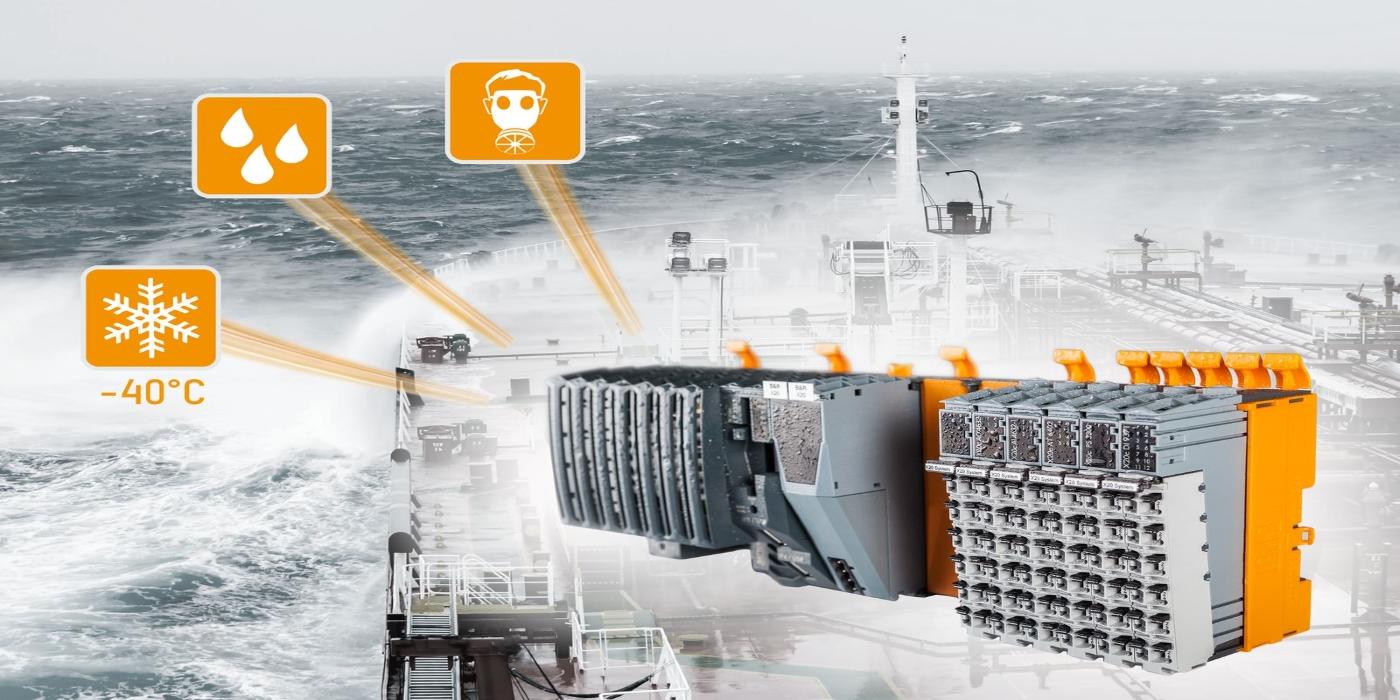 Certificaciones marítimas adicionales para el sistema X20 de B&R