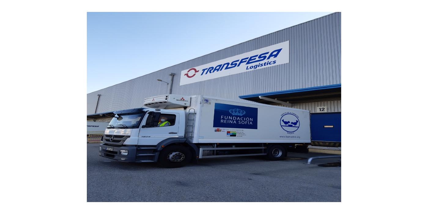 Transfesa Logistics y los Bancos de Alimentos refuerzan su colaboración en 2021 ante una creciente necesidad de almacenaje de bienes en los últimos meses