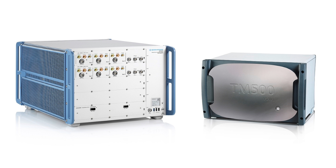 Rohde & Schwarz y VIAVI demuestran el rendimiento de datos IP de enlace descendente de alta velocidad 5G NR utilizando 8x portadoras de componentes FR1 y FR2