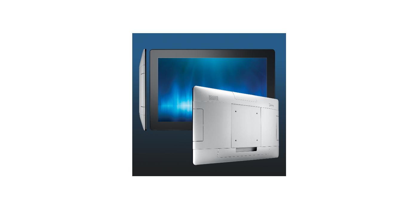 Fina y elegante. Serie UTC-100: Advantech anuncia la serie UTC-100 de ordenadores táctiles ultrafinos multifunción