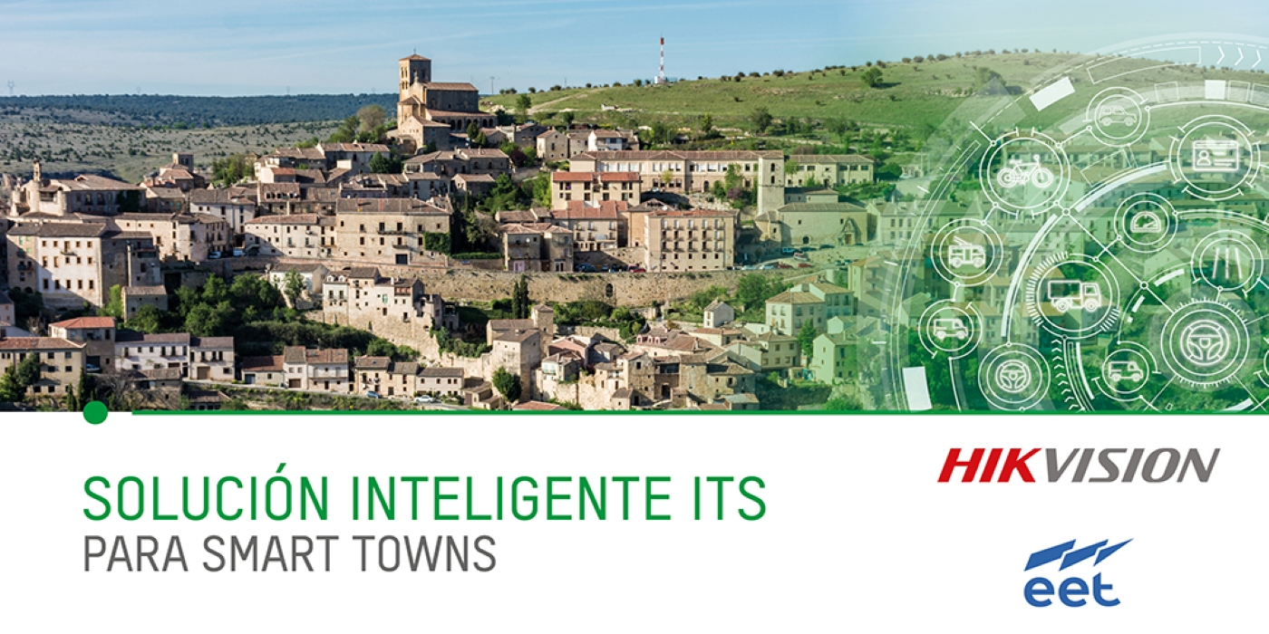 EET distribuye la solución Smart Town de Hikvision