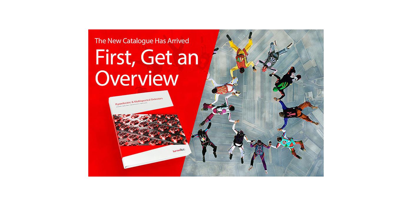 Siempre actualizado: nueva edición del catálogo de detectores de InfraTec