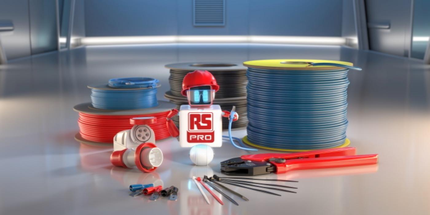 RS Components presenta una gran ampliación de su cartera de productos RS PRO de cableado y conectividad