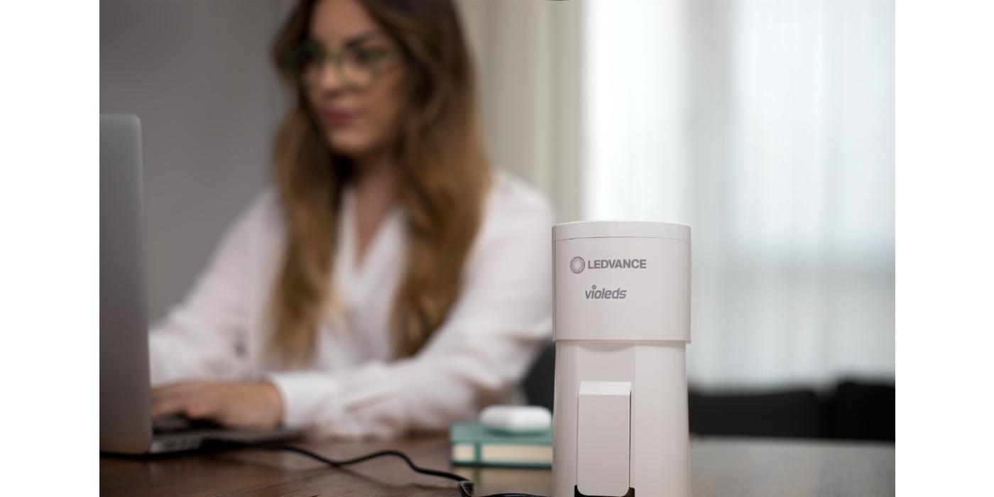LEDVANCE lanza al mercado el purificador de aire UVC HEPA: portátil, ecológico y eficaz frente a virus y bacterias
