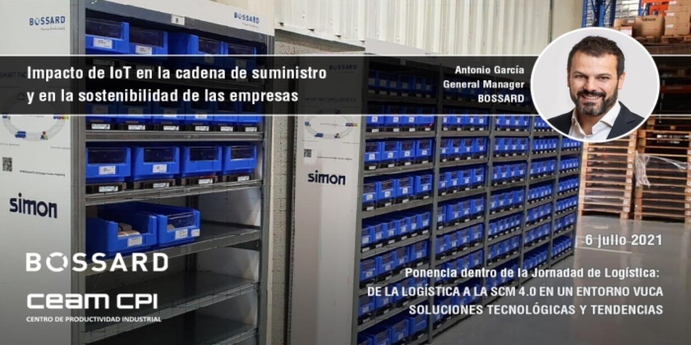 """Bossard Spain: """"El IoT tiene un impacto directo en la cadena de suministro y en la sostenibilidad"""""""