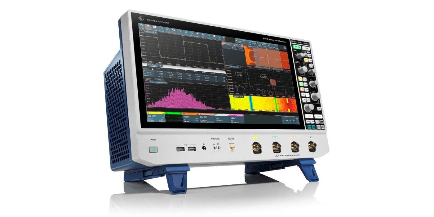 Nuevos osciloscopios R&S RTO6 de Rohde & Schwarz ofrecen información al instante gracias a su mayor usabilidad y rendimiento