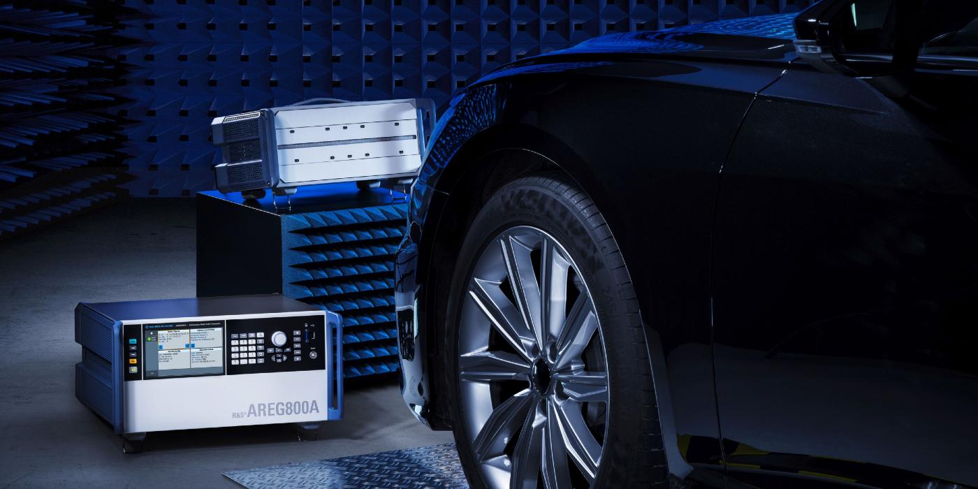 El nuevo sistema de prueba de Rohde & Schwarz para sensores de radar automotriz simula electrónicamente incluso objetos que se mueven lateralmente